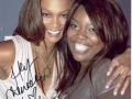 Tyra Banks and Chenese Lewis
