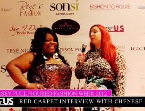 Liz Black of Plusforus.com interviews Celebrity Host Chenese Lewis
