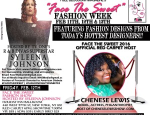 Chenese Set To Host Face The Sweet Fashion Week Red Carpet