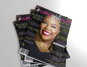 Chenese Graces The Cover Of #CurvyGirlsSlay Magazine